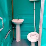 Banheiro químico convencional